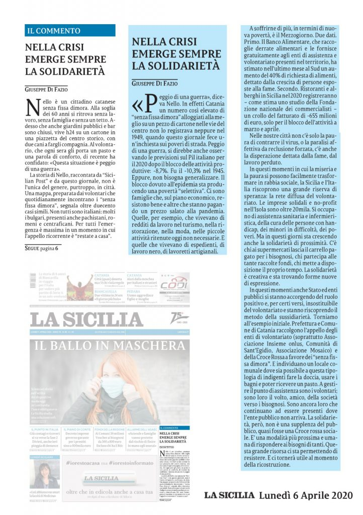 La Sicilia 06_04_2020